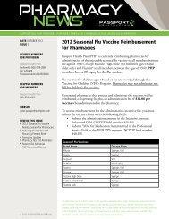 Pharmacy News #3 - Passport Health Plan