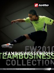 FALL WINTER 2010 TEAM BUSINESS COLLECTION - Sport Engstfeld