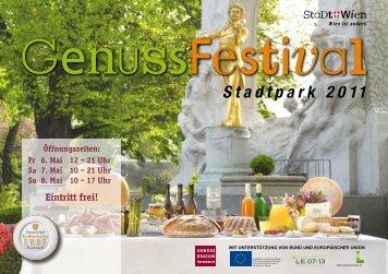 Eintritt frei! - Kulinarisches Erbe Österreich