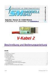 SM Anleitung V-Kabel 2 v1.01 - SM-Modellbau