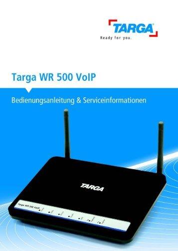 Targa WR 500 VoIP
