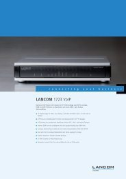 LANCOM 1723 VoIP - LANCOM Systems