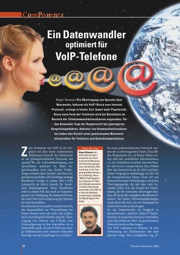 Ein Datenwandler VolP-Telefone - KI