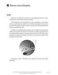 Novas tecnologias VoIP