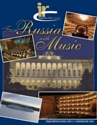 St. Petersburg tour with music - Imperial River Cruises