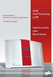AVM VoIP Gateway 5188