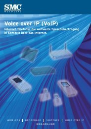 Voice over IP (VoIP) - SMC