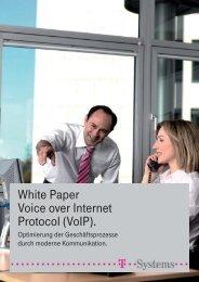 White Paper Voice over Internet Protocol (VoIP). - Kommunaltelefon