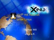 VoIP mit Asterisk unter Linux