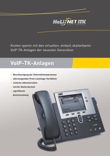 VoIP-TK-Anlagen - HeLi NET