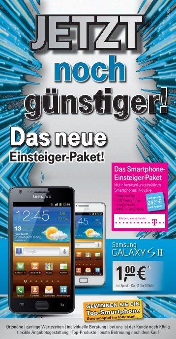 Smartphone-Einsteiger-Paket