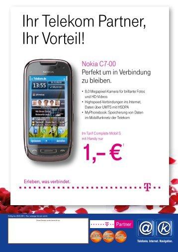 Ihr Telekom Partner, Ihr Vorteil! - MS-Electronic