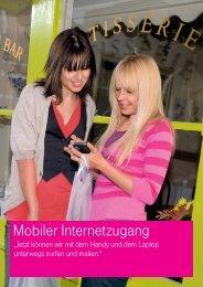Mobiler Internetzugang - Telefonvertrieb