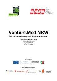 Venture.Med NRW - Business Angels Netzwerk Deutschland eV