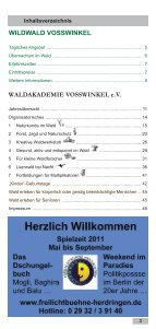 waldgasthaus - Wildwald Vosswinkel - Seite 3