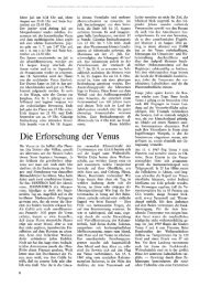 Die Erforschung der Venus