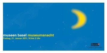 museen basel museumsnacht - Schweizer Radio und Fernsehen