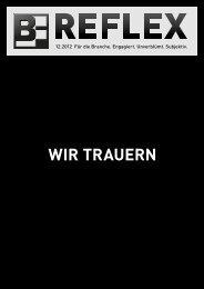 Wir trauern - Bergmann & Franz