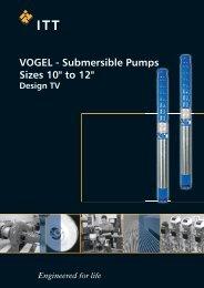 VOGEL Submersible Pumps, Design TV - Lowara