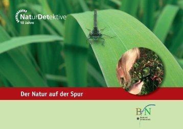 Der Natur auf der Spur - Bundesamt für Naturschutz