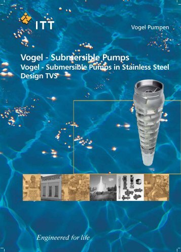 Vogel - Submersible Pumps - Water Solutions
