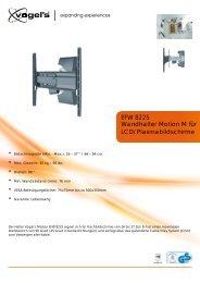 Wandhalter Motion M für LCD/Plasmabildschirme ... - Ingram Micro