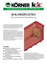 Chemieanlagenbau Gesellschaft mbH, A-8551 Wies/Austria - Koerner