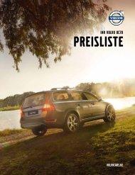 Preisliste Volvo XC70 - Kollinger-Gruppe