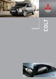 Jedes Modell ist so individuell wie sein Fahrer. DAS ... - Mitsubishi