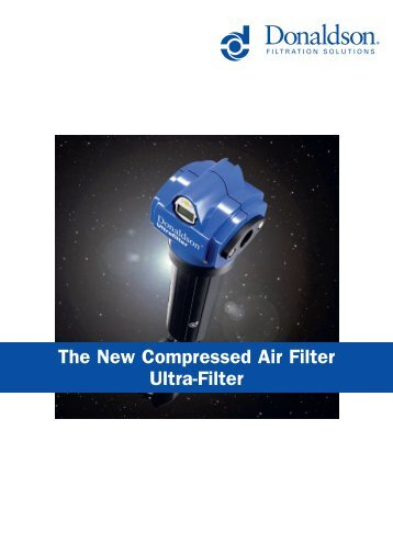 The New Compressed Air Filter Ultra-Filter