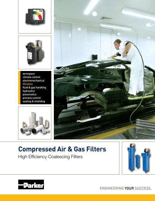Compressed Air & Gas Filters - Parker Hannifin Corporation
