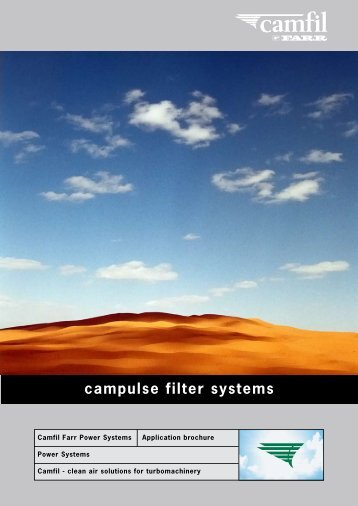 campulse filter systems - Camfil Farr