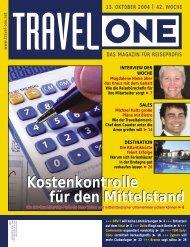 Kostenkontrolle für den Mittelstand Kostenkontrolle für ... - Travel-One
