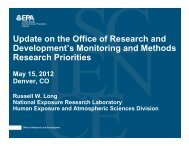 Russell Long, EPA Office of Research and Development