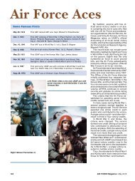 Air Force Aces - Air Force Magazine