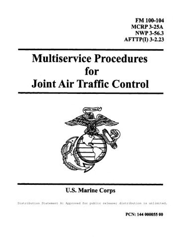 MCRP 3-25A Multiservice Procedures for Joint Air Traffic Control