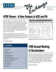 Corporate News - HTRI