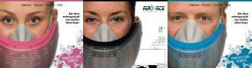 Air-Ace andningsskydd som skyddar dina lungor
