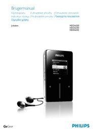 Felhasználói jogokkal kapcsolatos tudnivalók - Philips
