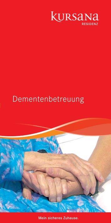 Krankheitsbild Demenz. - Kursana
