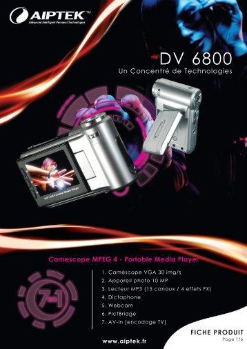 DV 6800 - Aiptek France