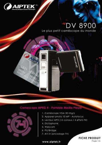 DV 8900 - Aiptek France