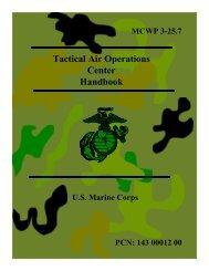 Tactical Air Operations Center Handbook - GlobalSecurity.org