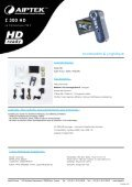 Z 300 HD - Aiptek France - Page 6