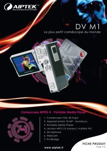 DV M1 - Aiptek France