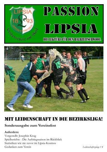 Heft 16: 01.07.2011 Saisonrückblick - SV Lipsia 93 Leipzig-Eutritzsch