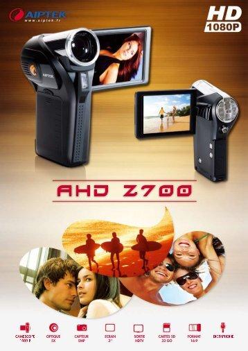 AHD Z700 - Aiptek France