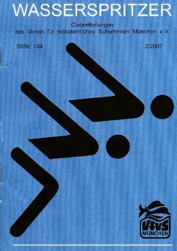 Inhaltsverzeichnis 3 - Verein für volkstümliches Schwimmen ...