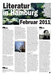 Februar 2011 - Literatur in Hamburg