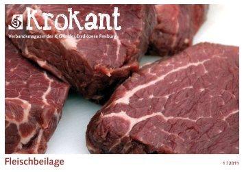 Krokant 1-2011: Fleischbeilage - KjG